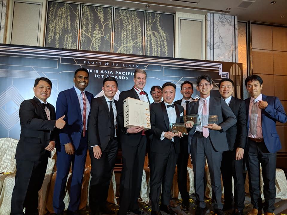 2018フロスト&サリバン アジア太平洋地域ICTアワード