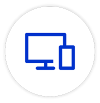 Multiple device platform support icon