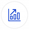 Report and analytics icon