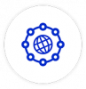 Universal interoperability icon